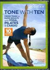 Tone With Ten - Cross Train for Rapid Results with Yoga, Pilates & Cardio  - NEW