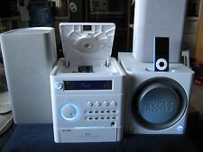 iLuv i7500WHT 2.1-Channel Mini Audio System for iPod w/Remote Control &Subwoofer