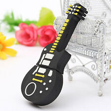 32GB Mini Guitar Design USB 2.0 Flash Drive Memory Stick Storage Disk Novel Gift