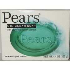 Pears Soap Oil Clear With Lemon Flower extract, 4.4 oz