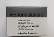 MD FORMULATIONS Daily Peel Pads - 40 Pads - New in Box