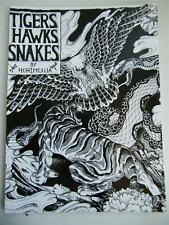 Tigers Hawks Snakes Horimouja Jack Mosher Japanese style tattoo Flash Book 11""