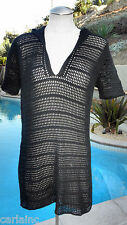 Isaac Mizrahi Knitted See Thru Dress SZ L