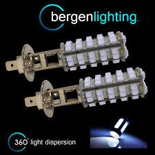2X H1 60 LED BIANCHI FARO ANTERIORE FANALI LAMPADINE KIT AUTO XENON HL500101