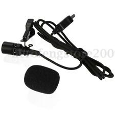 Professional External HIFI Microphone w/ Collar Clip for GoPro Hero 3 3+ 4 2 1