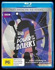 Doctor Who: The Power of the Daleks NEW B Region Blu Ray