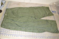 X-small regular FIELD trousers pants LINER used ok cold weather freeze OD faded