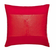 Catalina Lansfield De Seda Roja Con Lentejuelas cubierta del amortiguador