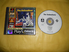 PS1 GAME-THE DALMATIANS-SONY PLAYSTATION-PAL-PS2-PS3-ITA-ITALIANO