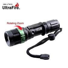 Ultrafire 6000 LM Zoomable CREE XML T6 LED Flashlight 18650 AAA Battery Torch UP