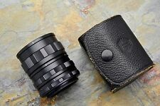 Asahi Pentax Takumar Auto M42 No 1 2 3 Extension Tube Set w/ Case Macro (#1735)