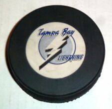 Vintage NHL Hockey Trench Official Game Puck Tampa Bay Lightning