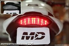 2011-2017 Triumph Speed Triple SEQUENTIAL Signal LED Tail Light Clear Lens