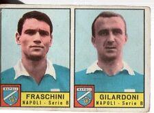 FIGURINA PANINI ANNO 1963/64  NAPOLI FRASCHINI/GILARDONI