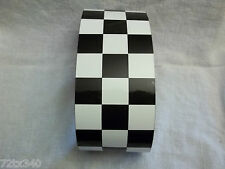 CHECKERED FLAG VINYL DECAL TAPE MOTORCYCLE HELMET BIKE FAIRING TANK STICKER