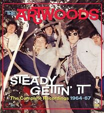 ARTWOODS - STEADY GETTIN' IT - THE COMPLETE RECORDINGS 1964-1967 - 3CD BOX -