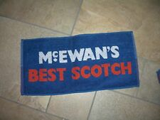 McEwan's Best Scotch Bar towel New