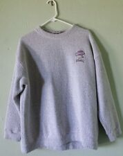 VTG ROSWELL NEW MEXICO UFO ALIENS FLYING SAUCER TEXTURED FUZZY SWEATSHIRT XL USA