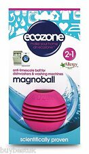 Ecozone Magnoball - Anti-Limescale Ball For Washing Machine and Dishwasher Up