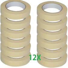 12 X general purpose masking tape Multi Surface Use Paint Lines Easy Remove A068