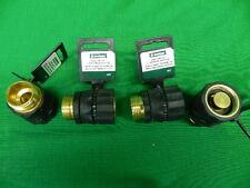 Qty 4 Quick Connect Set w/ Auto Shutoff use for Garden Waterhose & attachments