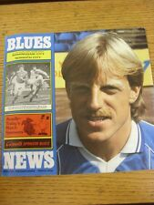 26/01/1985 Birmingham City v Norwich City [FA Cup 2nd Replay] (Faint Crease). Go