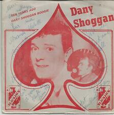 DANY SHOGGAN Ten years ago SINGLE BLACKJACK 1981 BELGIUM