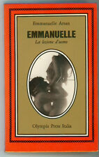 ARSAN EMMANUELLE LA LEZIONE D'UOMO OLYMPIA PRESS 1974 I° EDIZ.