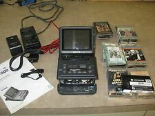 Sony Video Walkman Model GV-500 with 11 Betamax Movies