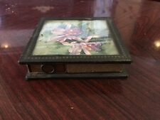 Unusual Table Top 4 Box Match Holder