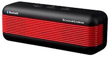 Schaub Lorenz SP 520BT-R Mobiler Bluetooth-Stereo-Lautsprecher 2x 1,2 Watt