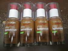 4 COVERGIRL OUTLAST STAY LUMINOUS FOUNDATION *875* EXP: 5/18      RR 13102