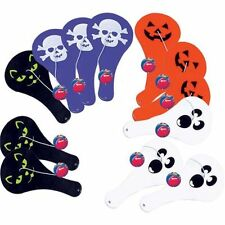 Halloween Paddle Ball 12 pack Favor Pack