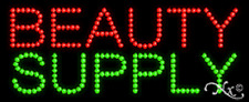 """NEW """"BEAUTY SUPPLY"""" 27x11 SOLID/ANIMATED LED SIGN W/CUSTOM OPTIONS 20021"""