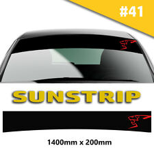 Sunstrip Peugeot Sport Car Stickers Decal Graphics Windscreen Stripes