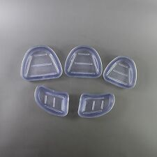 5pcs Dental Lab Plaster Model Base Molds Brand New
