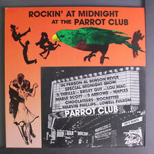 VARIOUS: Rockin' At Midnight At The Parrot Club LP (blue vinyl, Parrot masters)