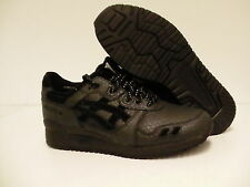 Asics running shoes Gel-Lyte III black leather size11 us men
