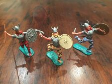 Timpo Vikings/ Norsemen Warriors - Toy Soldiers - 1970's