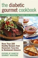 The Diabetic Gourmet Cookbook: More Than 200 Healthy Recipes from Home-ExLibrary
