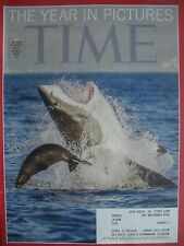 TIME MAGAZINE DECEMBER 30 2013 THE YEAR IN PICTURES PHOTO BY DAVID JENKINS NEW!
