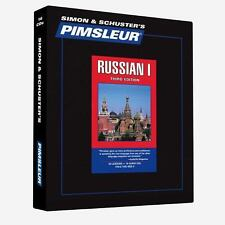 Pimsleur Learn/Speak RUSSIAN Language Level 1 CDs NEW!!