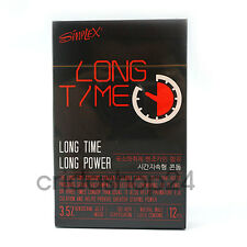 12P VONIX SIMPLEX LONG TIME Condoms CLIMAX DELAYING CONTROL Benzocaine Condom