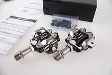 NEW Shimano Deore XT Mountain SPD Pedals Set w/Cleats EPDM8000 PD-M8000