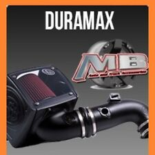 S&B Cold Air Intake Kit 6.6 Duramax LLY LBZ 06-07 75-5013-1 (Cleanable Filter)