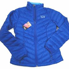 $180 Mountain Hardwear Women's Micratio Women's Down Jacket XS  Blue NWT