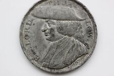 William pitt the younger lord Thurlow white metal medallion 1789