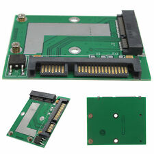 Mini Pcie mSATA SSD to 2.5'' SATA 6.0 Gps Adapter Converter Card Module Board ne