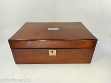 Antique Rosewood  Writing Slope Box     ref 2580