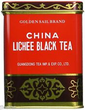 CHINA LYCHEE (LICHEE) BLACK  LOOSE LEAF TEA 1/2 LB BOX-GOLDEN SAIL BRAND